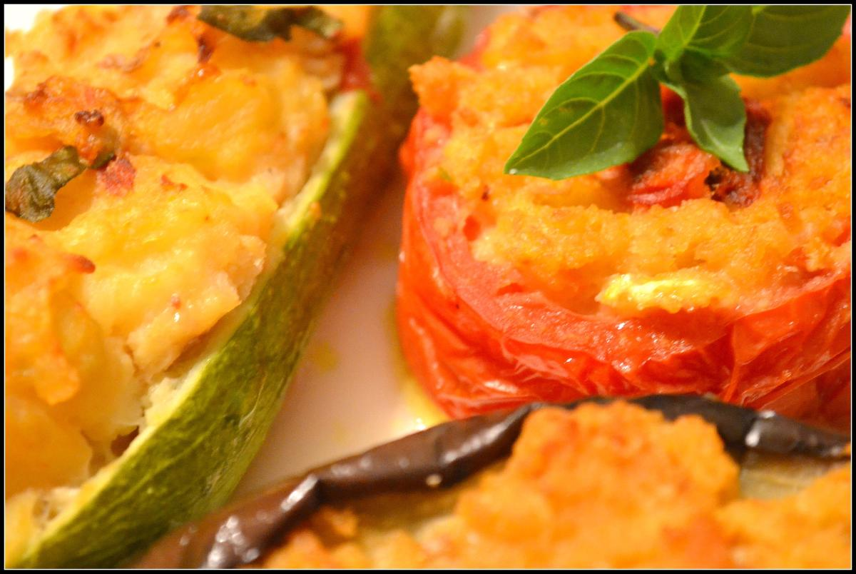 Ripieni all' Antica - Genovese style Stuffed Vegetables