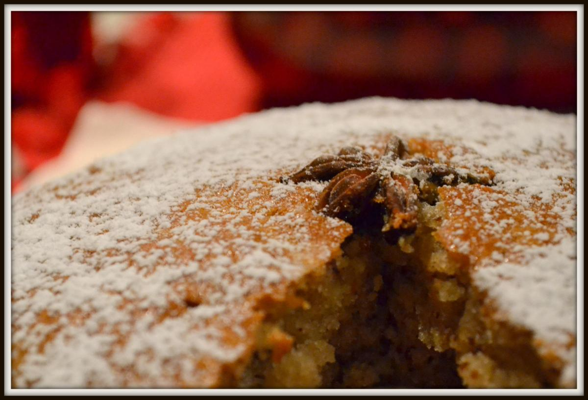 Star Anise Spicy Almond-Cake