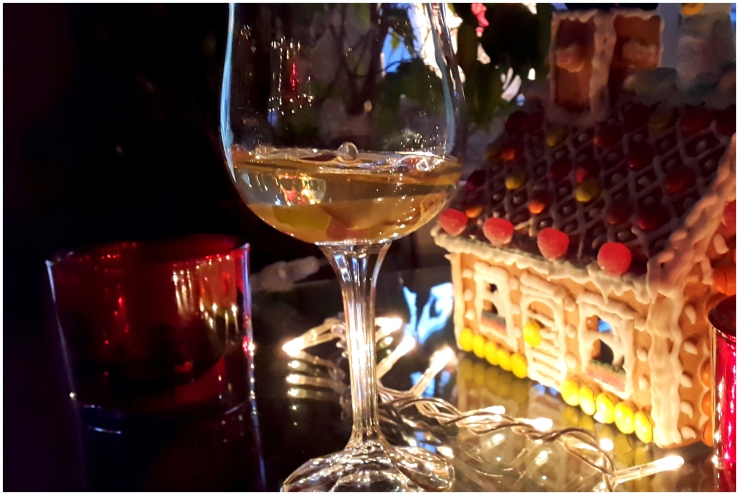 Jelly with Muscat Wine and Apples1