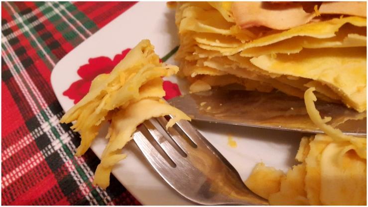 Butternur squash, Caramelized Onion & Fennel Lasagna