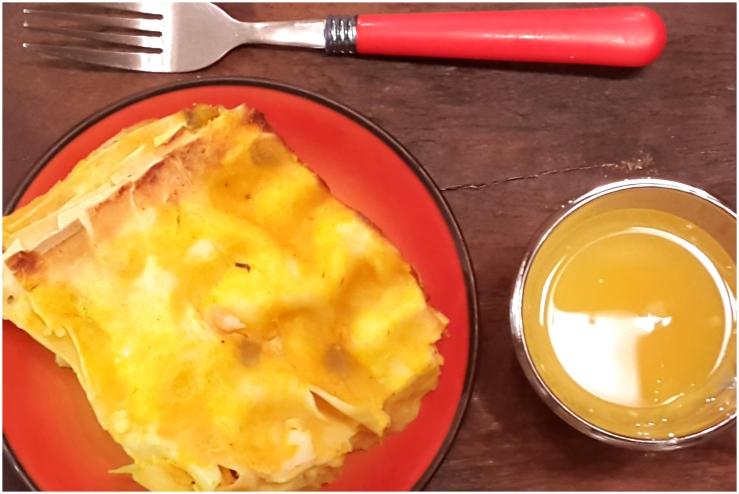 Butternur squash, Caramelized Onion & Fennel Lasagna8