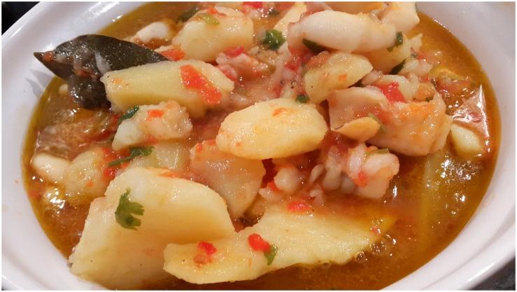 squid and potato one-pot2