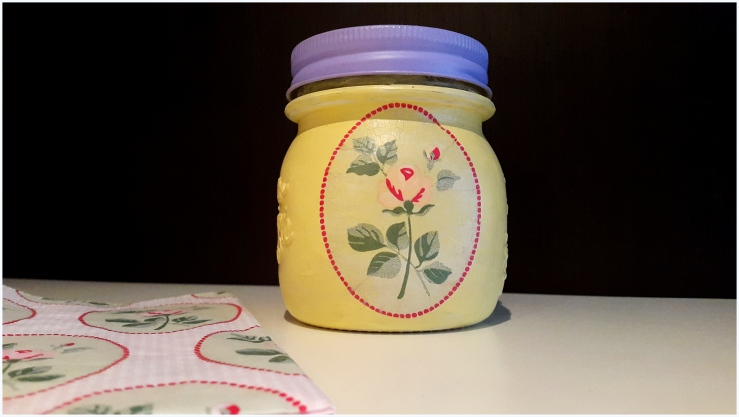 decoupage kitchen jars7