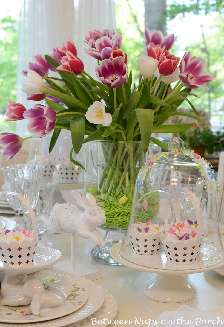 Pink & Purple Easter Decoration Ideas – No Milk Today