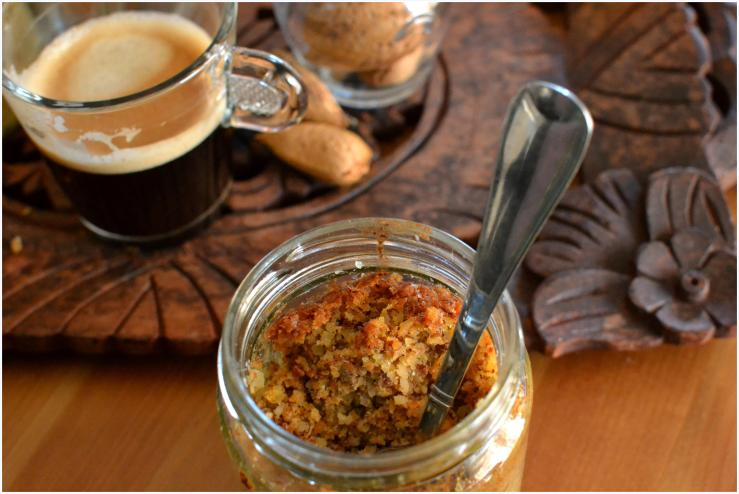 carrot and almond cake in a jar2