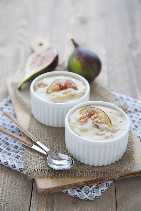 fig and almond little flans