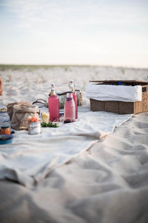 Portugal Beach Picnic by Beth Kirby