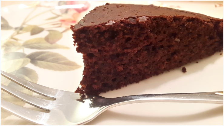 easy & healthy chocolate cake4