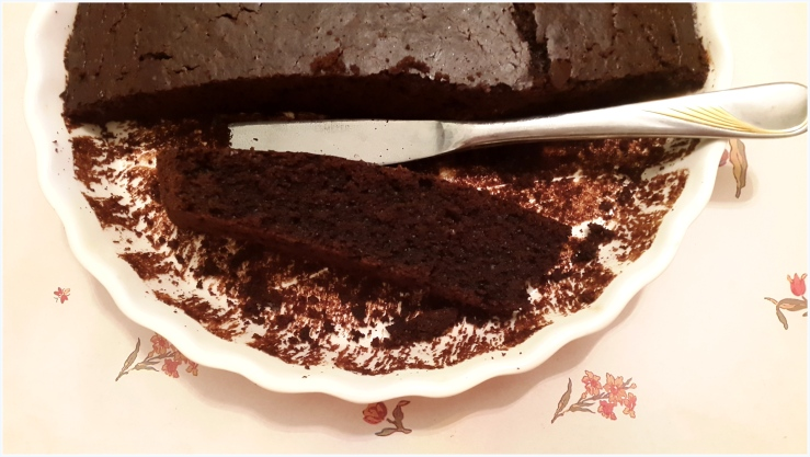 easy & healthy chocolate cake6