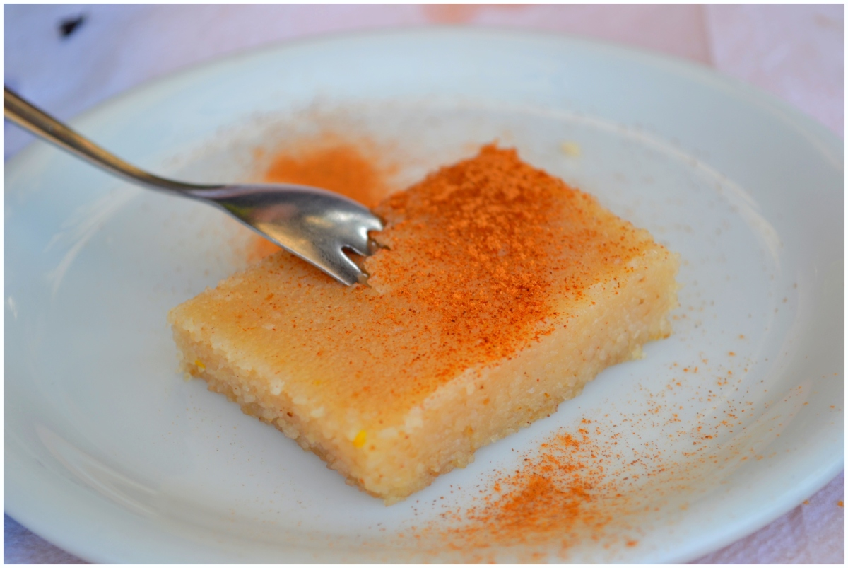 Greek Semolina Pudding