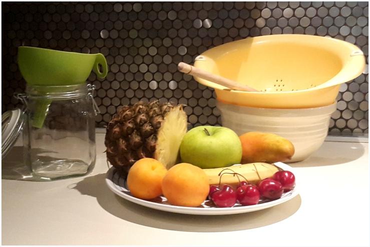pineapple and banana flavoured water kefir6