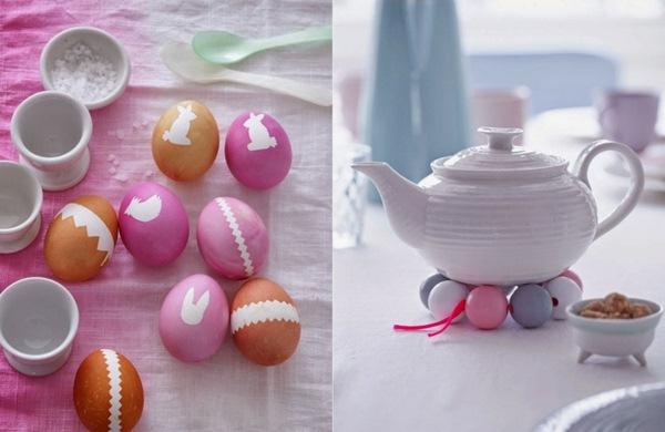 Décoration-de-Pâques-idées-dartisanat-théière-en-porcelaine-blanche-de-pâques