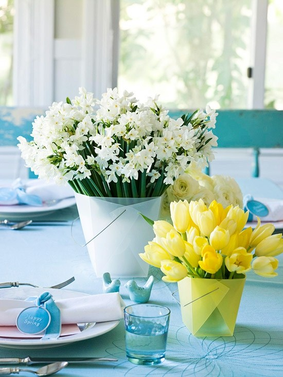 decoration-table-printemps-fleurs